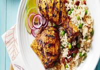 BBQ Chicken with Rice Pilaf