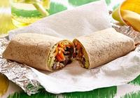 Brown Rice and Beans Wrap