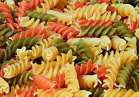 Pasta three colours