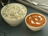 Dal makhani with Rice