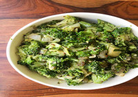 Kadai Broccoli Potato