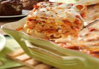 Chicken Lasagna with Marinara Sauce