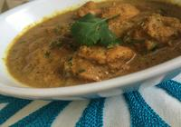 Hyderabadi Chicken with Lentils