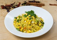Corn Green Onion Pulao