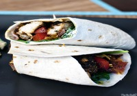 Blackened Chicken Wrap