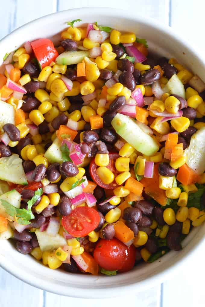 Black Beans & Corn Salad