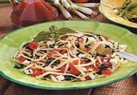 Linguine with Vegetables