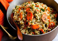 Local Fresh Vegetable Rice Pilaf with Paneer