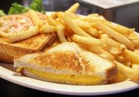 Cheese Sandwich with Fries