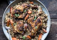 Herbed Baked Chicken with Rice Pilaf