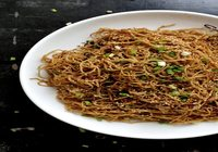 Chow Mein Noodle with Hoisin Sauce