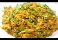 Cabbage and Peas Sabji