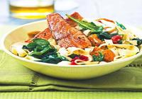 Mediterranean Salmon Special Bowl