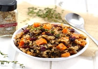 Wild Rice and Lentils Salad