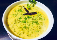 Thursday Special Kadhi Palak